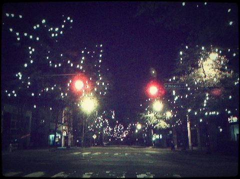 Athens Christmas Lights