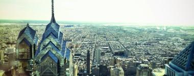 Philadelphia from the 55th Floor