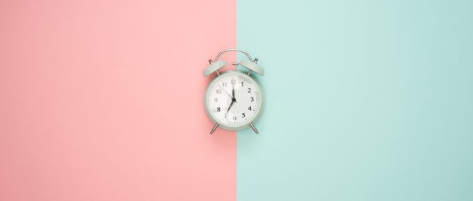 an antique alarm clock