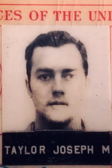 U.S. Armed Forces ID for Joseph Taylor Sr.